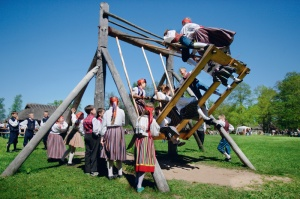 Traditional Easter Swing