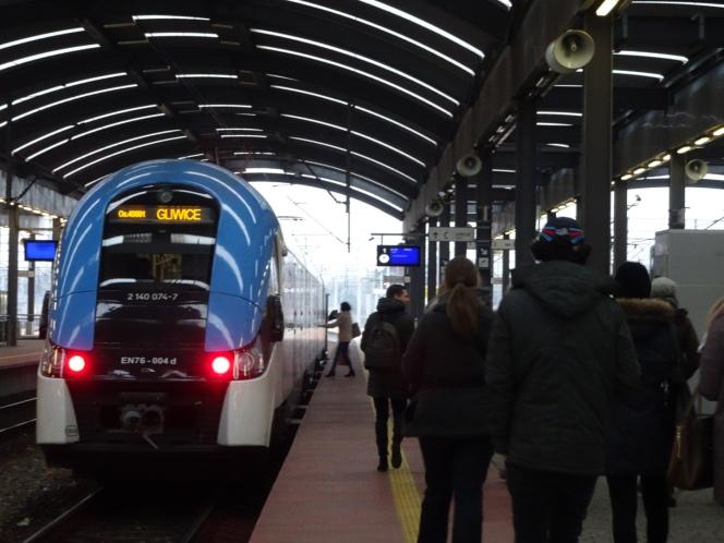 train to Gliwice